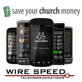 review for Bria Android Softphone SIP client by Wire Speed Hosted IP PBX