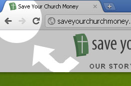 Save Your Church Money Favicon howto example