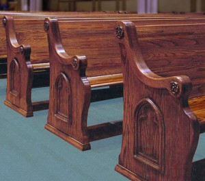 Church Chairs or Pews