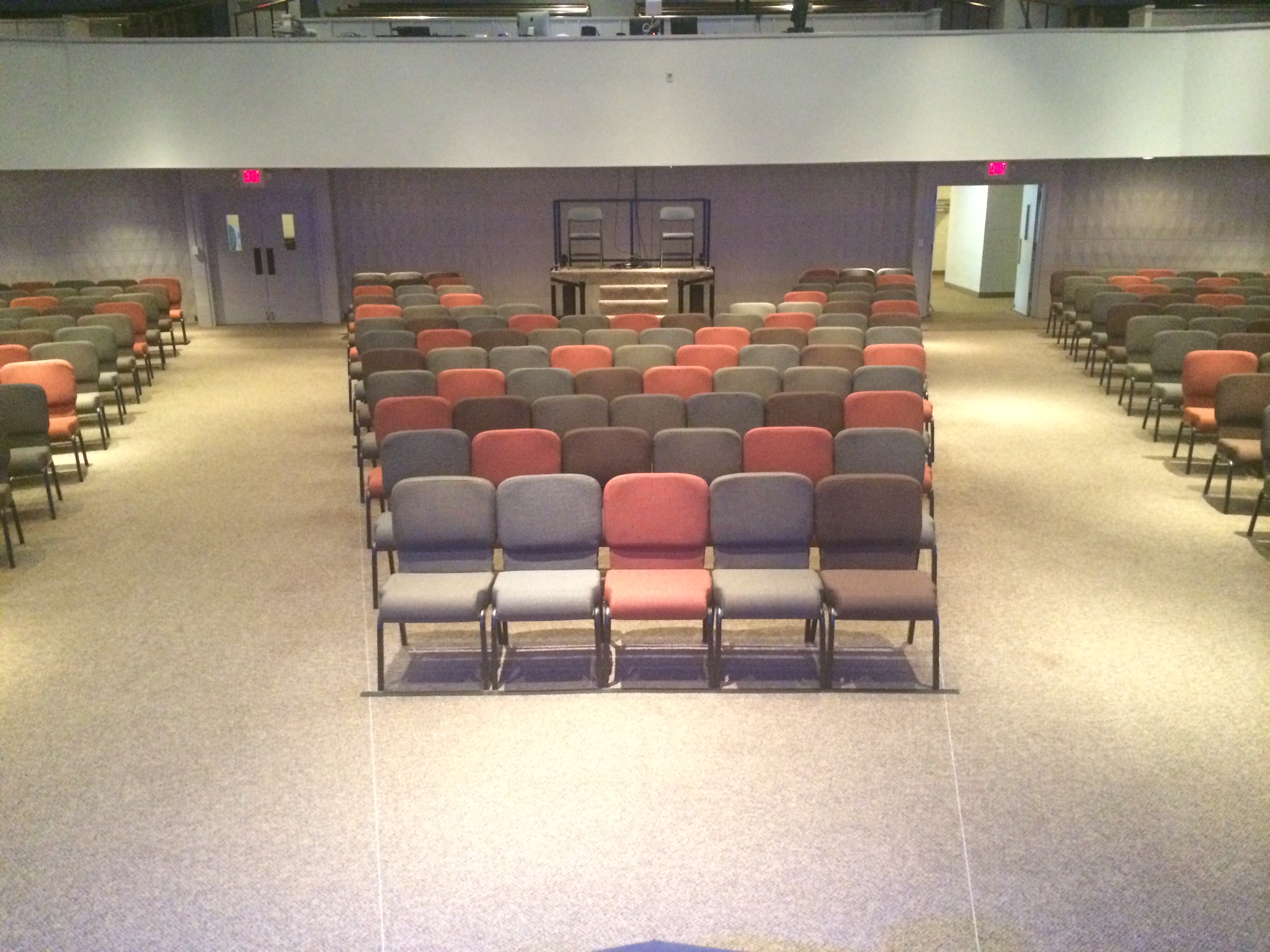 Multiple Church Chair Fabrics In The Same Room Save Your