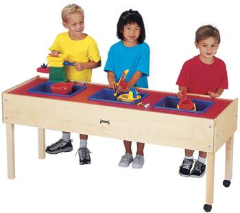0885JC - Jonti-Craft® 3 Tub Sensory Table