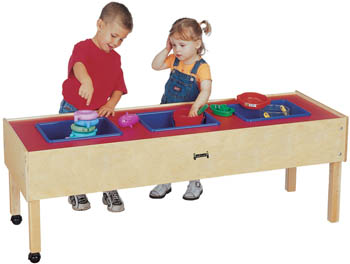 0886JC - Jonti-Craft® Toddler 3 Tub Sensory Table