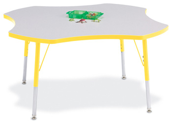 6453JCA007 - Berries® Four Leaf Activity Table - 48""