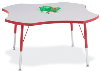 6453JCA008 - Berries® Four Leaf Activity Table - 48""