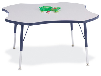 6453JCA112 - Berries® Four Leaf Activity Table - 48""
