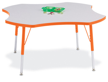 6453JCA114 - Berries® Four Leaf Activity Table - 48""