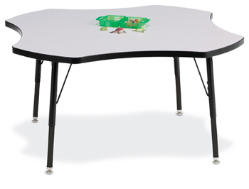 6453JCA180 - Berries® Four Leaf Activity Table - 48""
