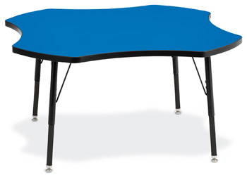 6453JCA183 - Berries® Four Leaf Activity Table - 48""