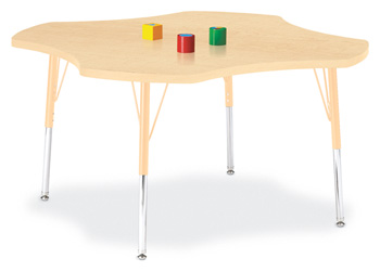 6453JCA251 - Berries® Four Leaf Activity Table - 48""