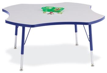 "6453JCE003 - Berries® Four Leaf Activity Table - 48"""