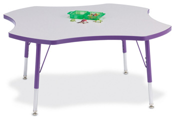 "6453JCE004 - Berries® Four Leaf Activity Table - 48"""