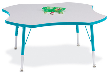 "6453JCE005 - Berries® Four Leaf Activity Table - 48"""