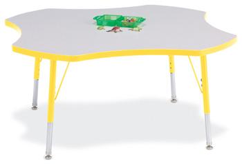 "6453JCE007 - Berries® Four Leaf Activity Table - 48"""
