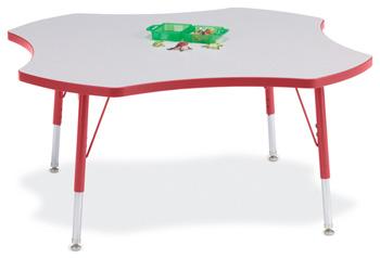 "6453JCE008 - Berries® Four Leaf Activity Table - 48"""