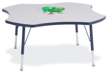 "6453JCE112 - Berries® Four Leaf Activity Table - 48"""