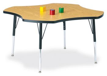 "6453JCE210 - Berries® Four Leaf Activity Table - 48"""