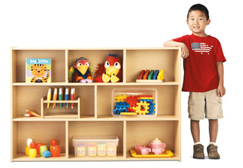 7020YT441 - Young Time® Three Shelf Storage