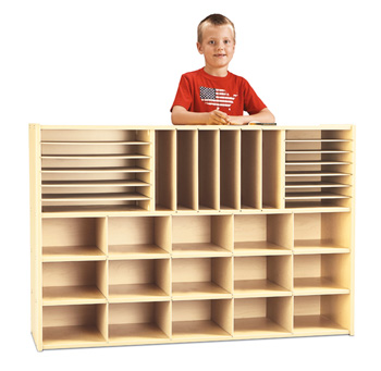 7030YT441 - Young Time® Sectional Cubbie Storage - without Trays