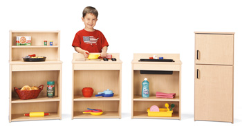 7080YT441 - Young Time® Play Kitchen 4 Piece Set