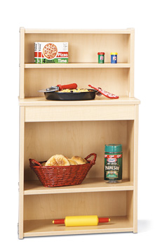 7081YT441 - Young Time® Play Kitchen Pantry