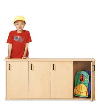 7107YT441 - Young Time® Stackable Locker with Doors