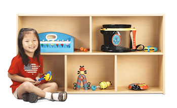 7143YT441 - Young Time® Two Shelf Storage